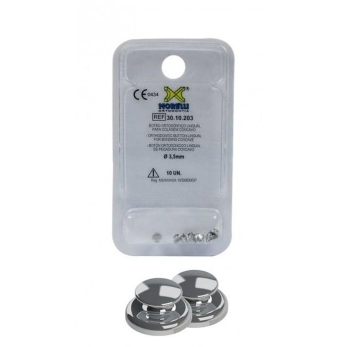 Morelli Bondable Buttons Curved 10/pk