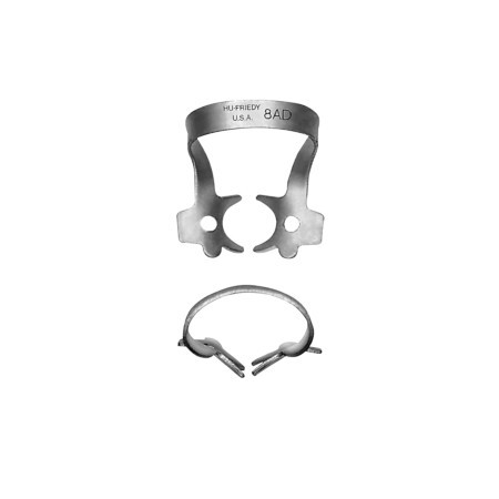 Hu-friedy 8AD Satin Steel® Rubber Dam Clamp