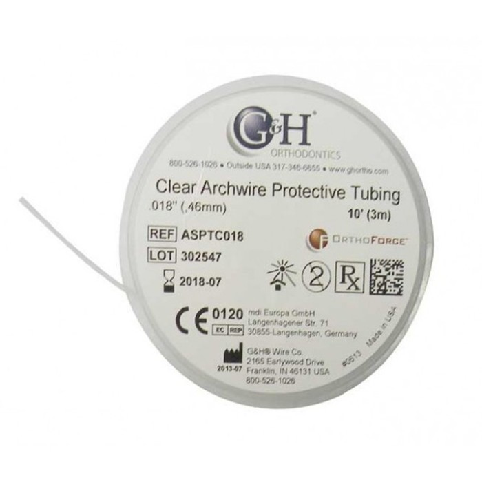 G&H Archwire Sleeve 10 Ft