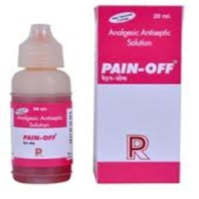 Pain Off analgesic antiseptic gel